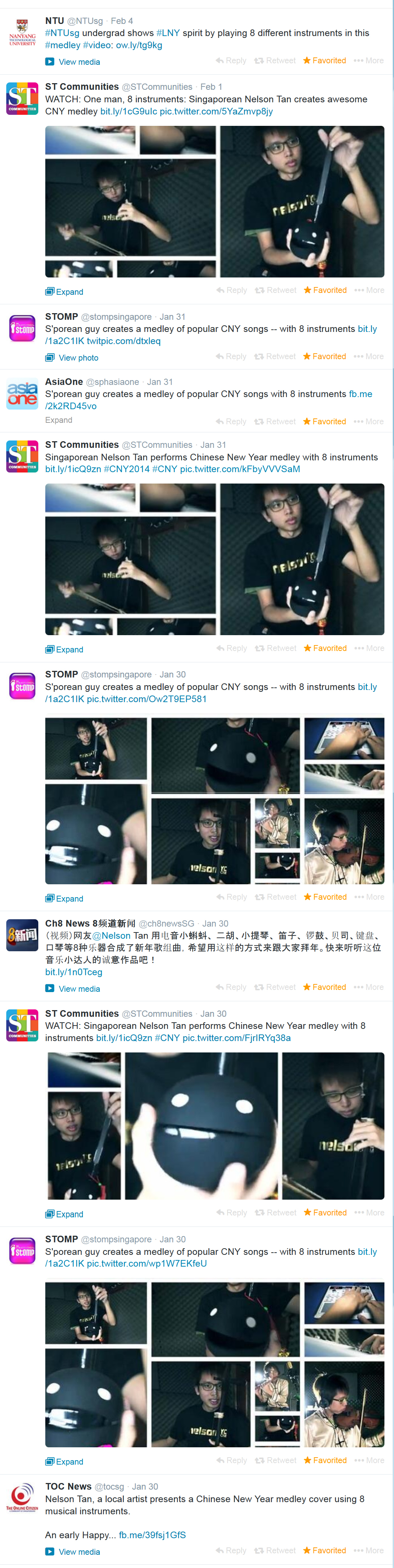 twitter sharing of nelsontyc cny music cover
